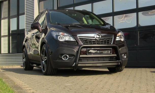 Steinmetz Opel Mokka Tuning Anbauteile Bügel Tieferlegung