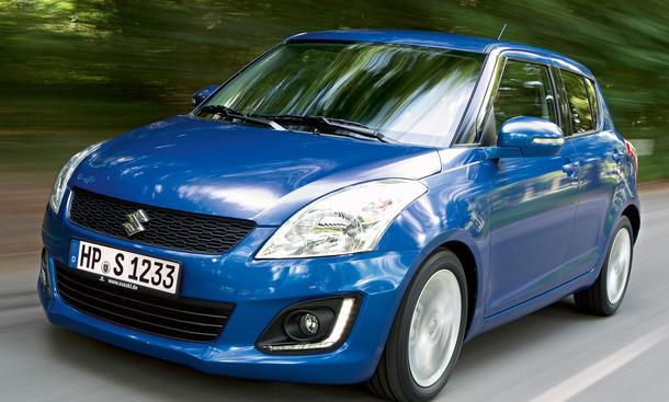 Suzuki Swift 2013 Facelift Neu