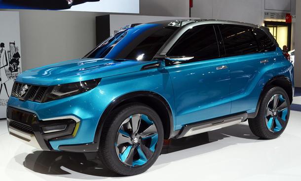 Suzuki iV-4 2013 Kompakt-SUV Studie Concept Geländewagen