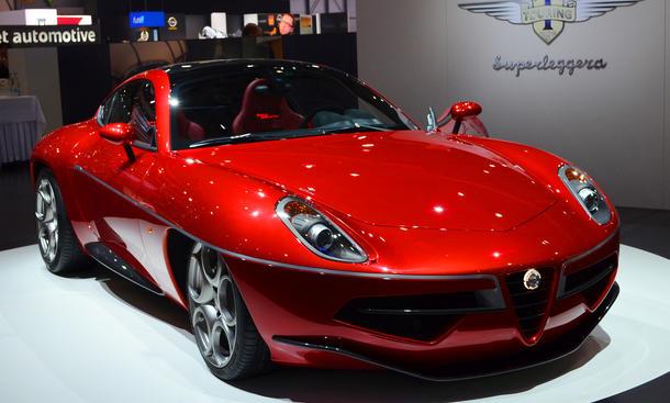 Touring Superleggera Disco Volante Produktion Kleinserie Alfa Romeo 8C