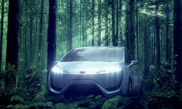Toyota Brennstoffzellenantrieb 2015 Preis Marktstart alternative Antriebe