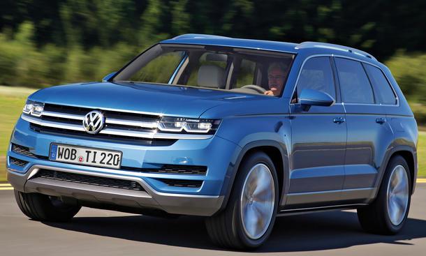 VW CrossBlue Concept Studie Hybrid Fahrbericht SUV Geländewagen