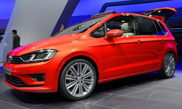 VW Golf Sportsvan IAA 2013 Plus Studie Nachfolger Kompakt-Van