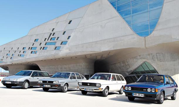 Classic Cars Historie VW Passat 40 Jahre Bilder
