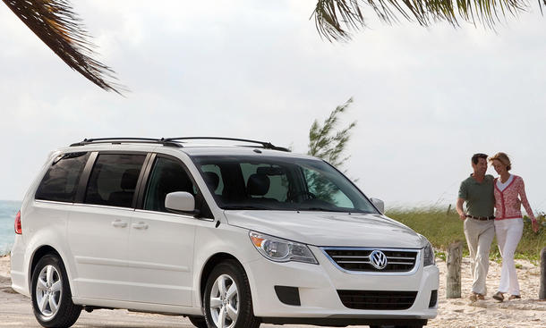 VW Routan USA Produktion Ende 2013 Chrysler Voyager