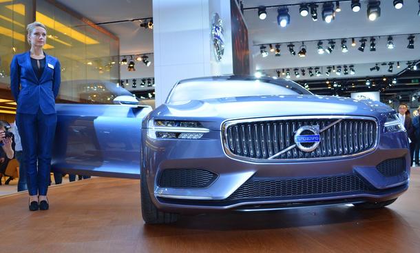 Volvo Coupé 2013 IAA Live Fotos Concept Car Studie