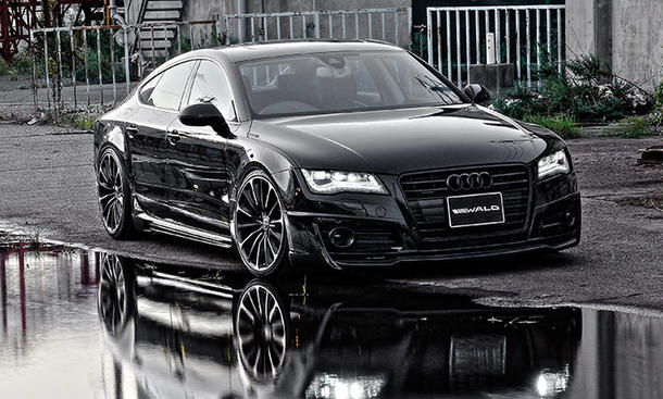 wald international audi a7 sportback japanischer tuner. Black Bedroom Furniture Sets. Home Design Ideas