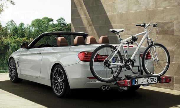 bmw 4er cabrio 2014 fr hstart mit fahrradtr ger. Black Bedroom Furniture Sets. Home Design Ideas