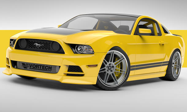 2014 Ford Mustang GT Yellow Jacket Tuning SEMA 2013