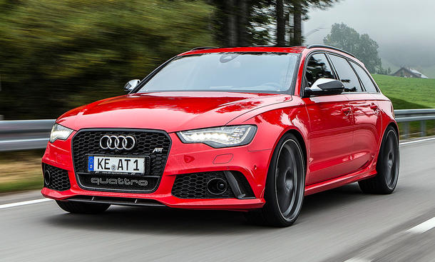 Abt Audi RS6 Avant Tuning RS 6 Power-Kombi 700 PS