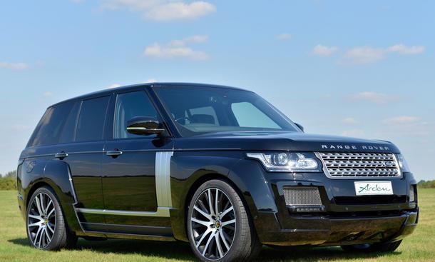 Arden Range Rover 2013 SDV8 Tuning SUV Bilder