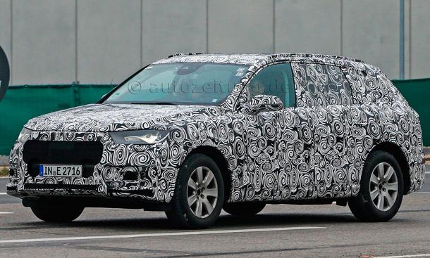 2015 Audi Q7 2014 Erlkoenig SUV Neuheit Q8 Prototyp
