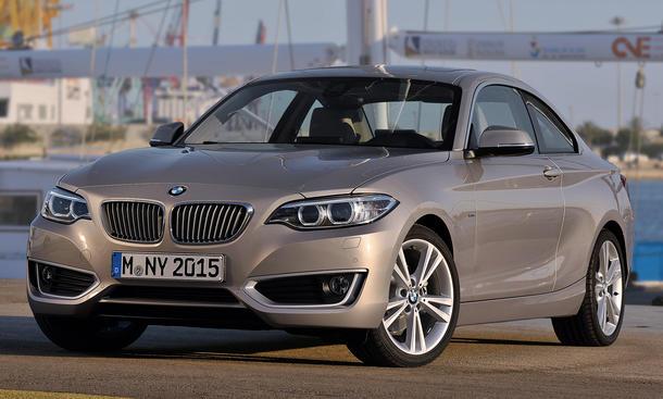 BMW 2er Coupe F22 Detroit Auto Show 2014 Kompaktklasse