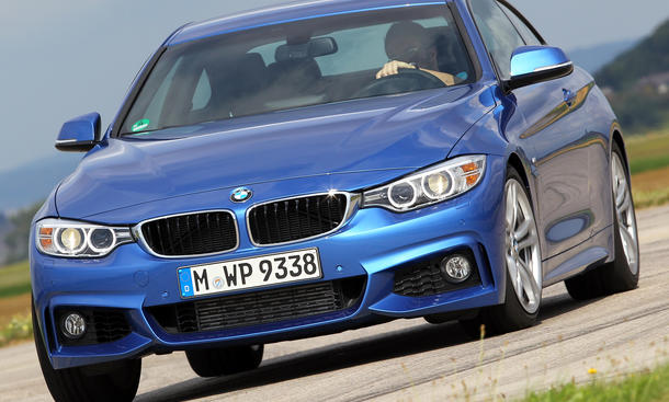 Bilder 2013 BMW 428i Coupé Mittelklasse-Vergleichstest