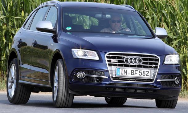 Bilder Audi SQ5 TDI quattro Vergleichstest Power-Diesel-SUV