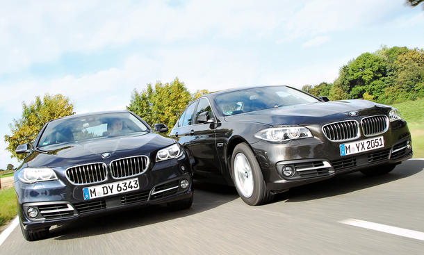 Bilder BMW 520 Benziner Diesel Vergleich