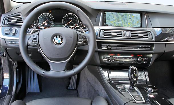 BMW 520i 520d Vergleichstest