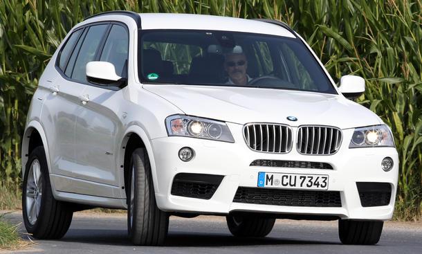 Bilder BMW X3 xDrive35d Vergleichstest Power-Diesel-SUV