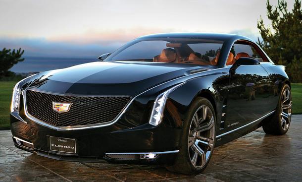 Bilder Cadillac Elmiraj Concept Grand Coupé 2013 Exklusiv Neuheiten