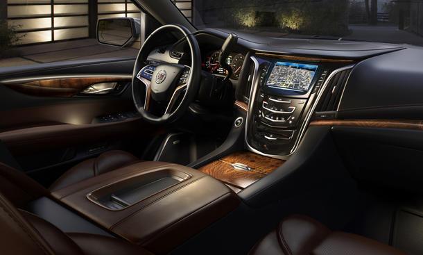 2015 Cadillac Escalade 2014 Bilder Innenraum Luxus-SUV Geländewagen Neuheit