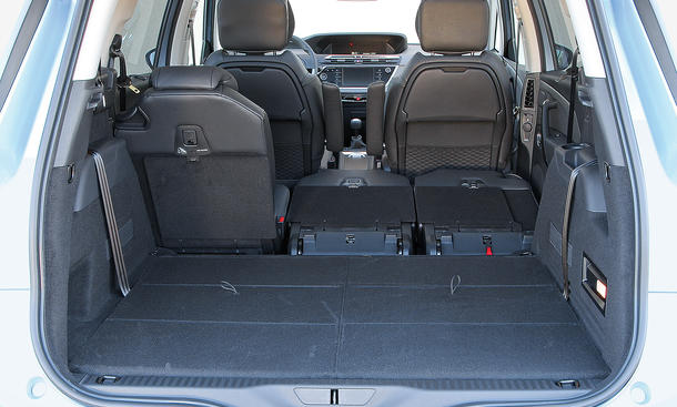 citroen grand c4 picasso e hdi 115 im test bilder. Black Bedroom Furniture Sets. Home Design Ideas