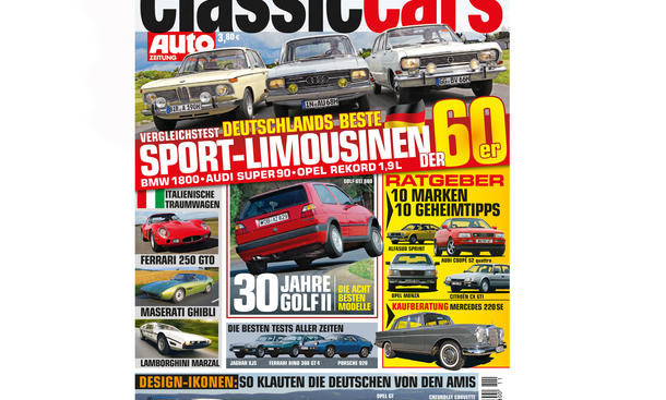 AUTO ZEITUNG Classic Cars 11/2013 001 Cover