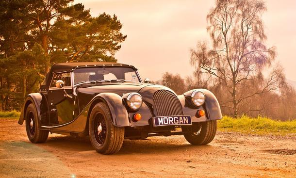 Sportwagen Roadster Gewicht 1000 Kilo Leichtbau Zweisitzer Morgan