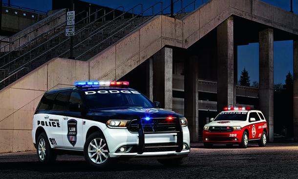 Dodge Durango Police Feuerwehr SUV Geländewagen Special Service