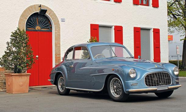 Ferrari 166 Inter Superleggera Bilder technische Daten Oldtimer Traumwagen