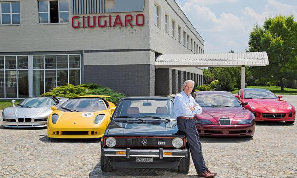 Giorgetto Giugiaro Designer Reportage Interview Golf Bilder