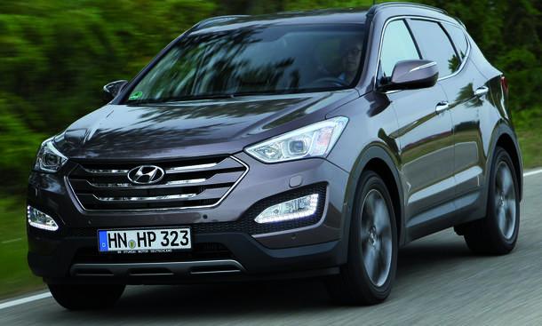 Hyundai Santa Fe 2.0 CRDi 2WD Test Bilder technische Daten
