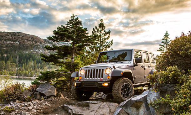 Jeep WranglerRubicon Trail Bilder Reportage USA Sierra Nevada