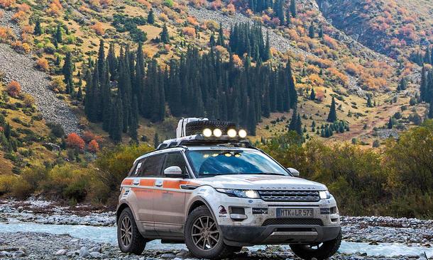 Land Rover Experience Tour Seidenstrasse 2013 Range Rover Evoque Bilder Reportage