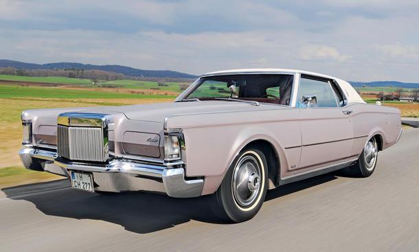 Lincoln Continental Mark III Bilder Fahrbericht technische Daten