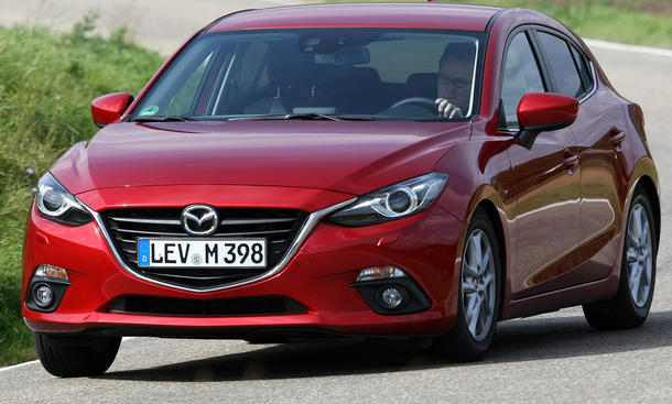 Bilder: Mazda 3 SKYACTIV-G 120