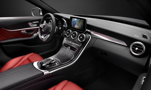 Mercedes C Klasse 2014 Innenraum W205 Technik HUD