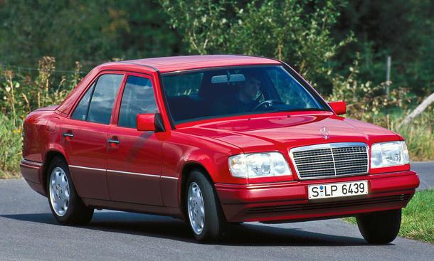 Mercedes E 280 Sechszylinder Bilder technische Daten