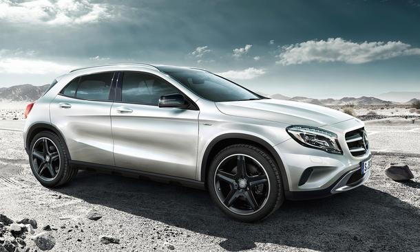 Mercedes GLA Edition 1 2013 Marktstart Sondermodell Kompakt SUV