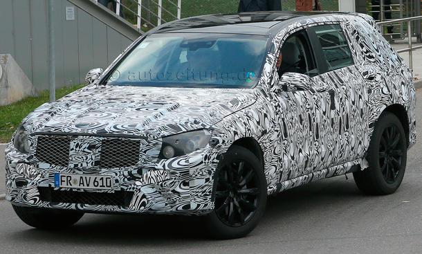 Mercedes GLK 2015 Erlkoenig X205 GLC SUV