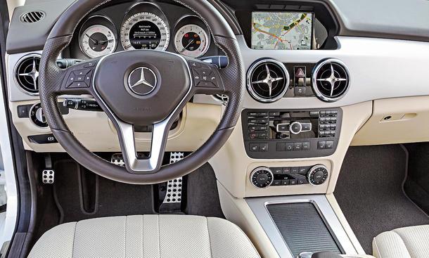 Mercedes Glk Benziner Auto Bild Idee