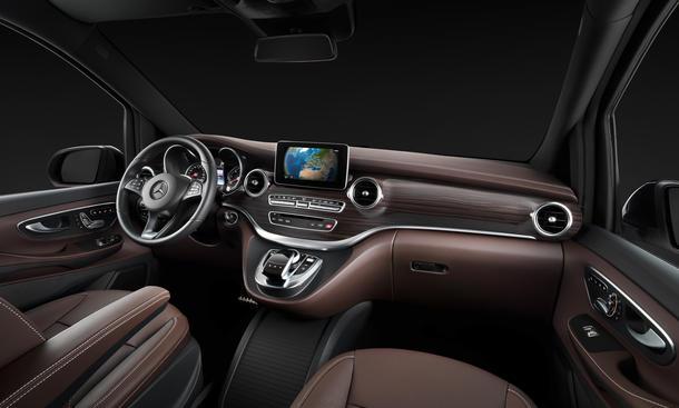 Mercedes V Klasse 2014 Innenraum Fotos Viano Transporter Multivan T5
