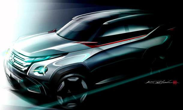 Mitsubishi GC PHEV Concept 2013 Tokyo Motor Show SUV Studie Plug in Hybrid