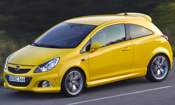 Pkw-Neuzulassungen September 2013 Segmente KBA Deutschland Opel Corsa