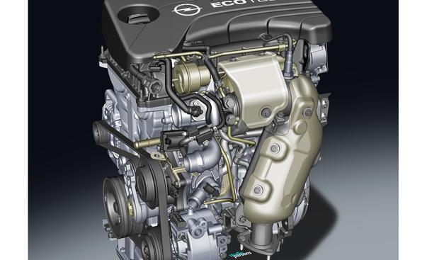 Opel SIDI Dreizylinder 1 0 Liter Turbo Direkteinspritzung