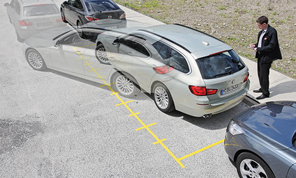 Parkassistent Bilder Daten Vergleichstest