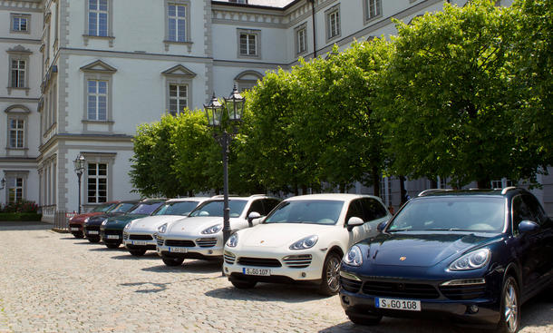 Wertverlust Neuwagen Porsche Cayenne Diesel Fahrzeugklassen
