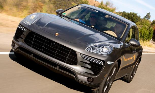Porsche Macan Fahrbericht SUV Bilder