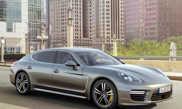 Porsche Panamera Turbo S 2013 Facelift Tokyo Motor Show