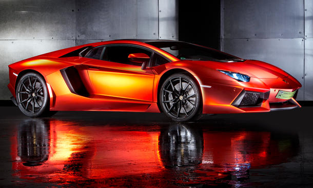 Print Tech Lamborghini Aventador Tuning Folierung Car Wrapping