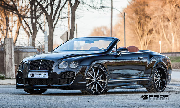 Prior Design Bentley Continental GTC Cabrio Tuning Bodykit W12